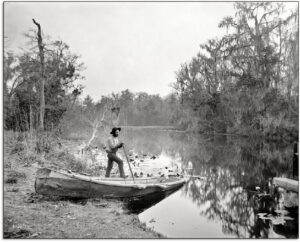 Historical Image of early Collier County waterways | Collier Mosquito Control District
